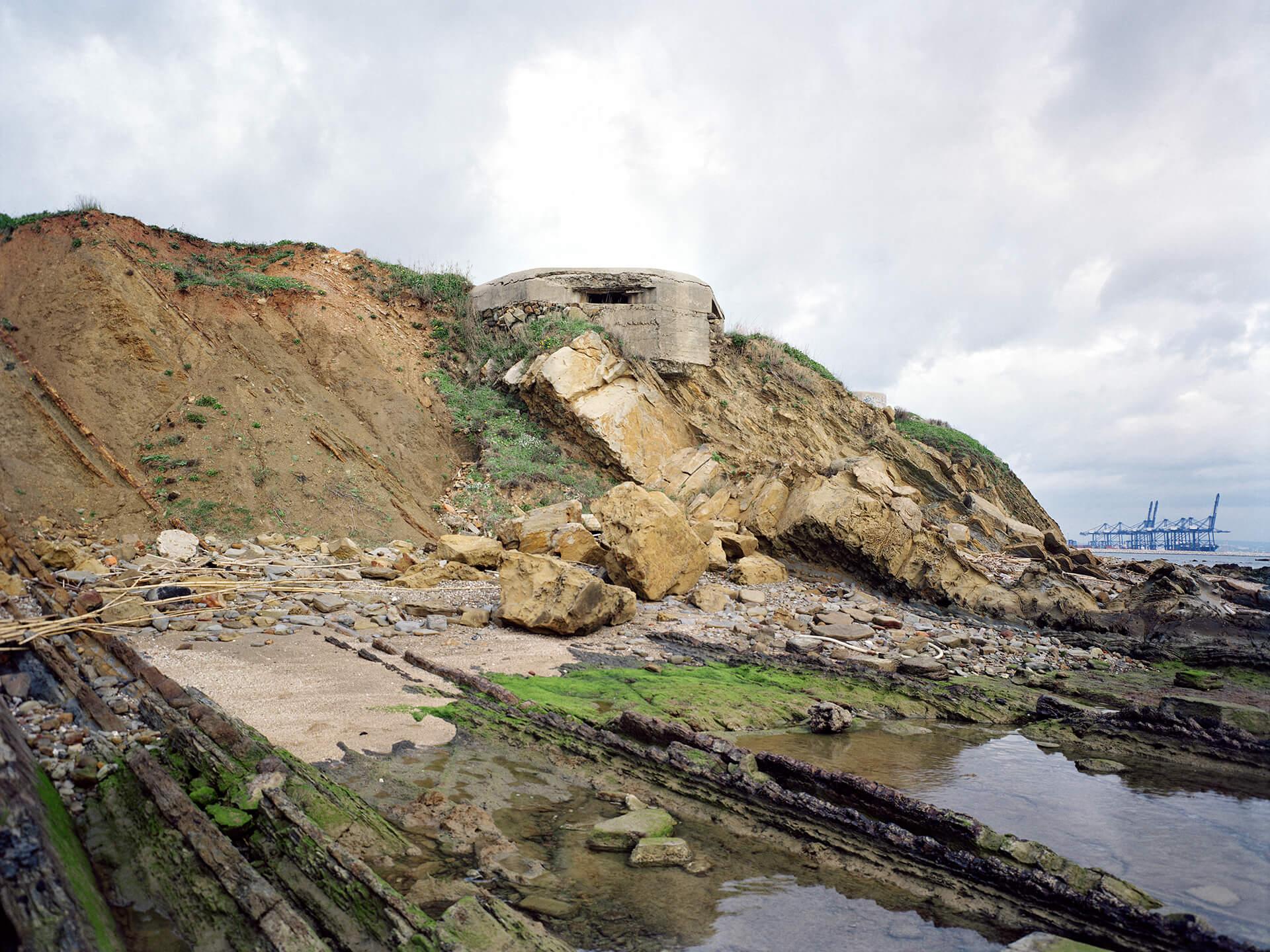 Au pied de la Punta San Garcia à Algésiras en Espagne.