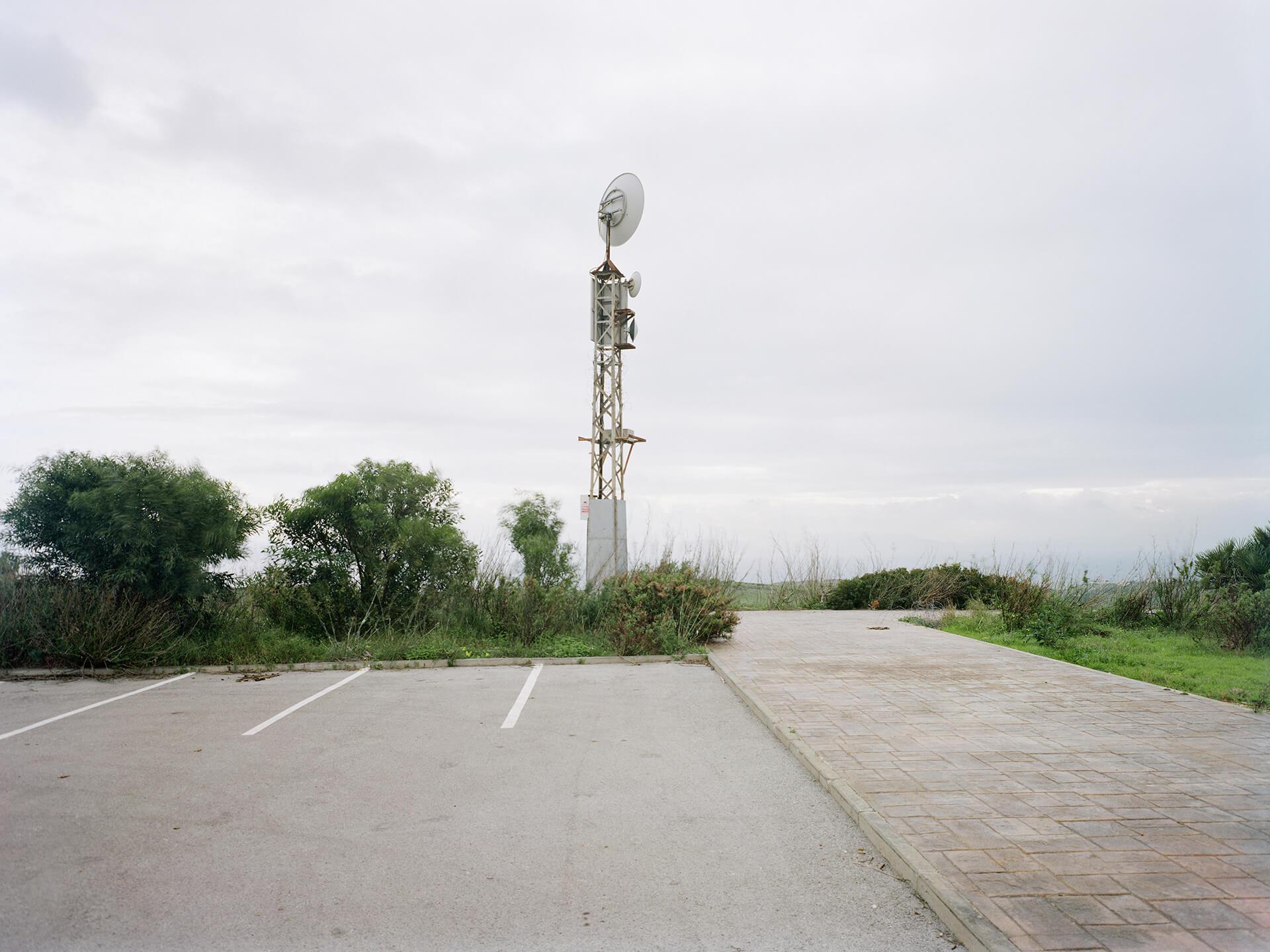 N-340 à Tarifa, route essentiellement côtière reliant l'Andalousie à la Catalogne.